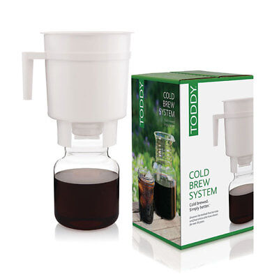 Toddy Cold Brew System makes Tea or Coffee (coffee with 50-67% less acid) BXTCMW