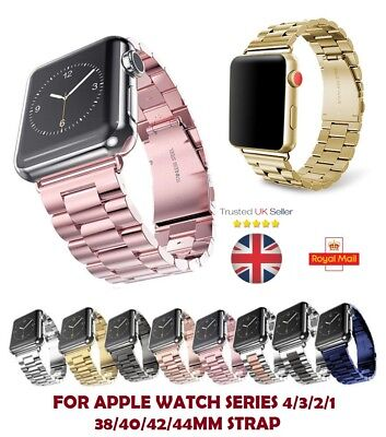 Band Strap Stainless Steel Replacement Clasp for Apple Watch iWatch 42mm New