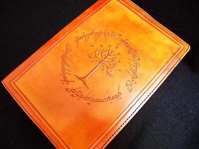 Lord of the Rings - TREE of GONDOR - Refillable A5 Handmade Leather Journal