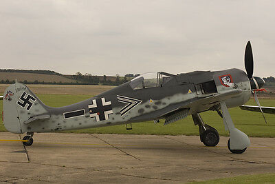 FW 190  100 inch  Scale RC AIrplane Printed Plans