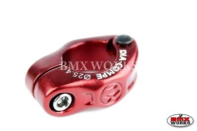 Dia-Compe Red MX1500N 25.4mm Seat Clamp All Colours Suit Old School Vintage BMX