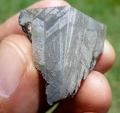 NICELY ETCHED 31 gram MUONIONALUSTA METEORITE - GREAT FOR JEWELRY!