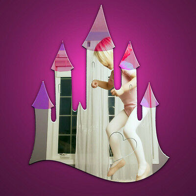 Mirror Acrylic Fairy Castle perfect for little girls