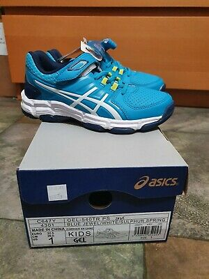 Brand new kis size 1 asics sport sneaker shoes runners