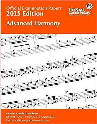 2015 RCM Exam Papers Advanced Harmony