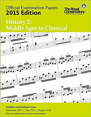 2015 RCM Exam Papers History 2 Middle Ages to Classical