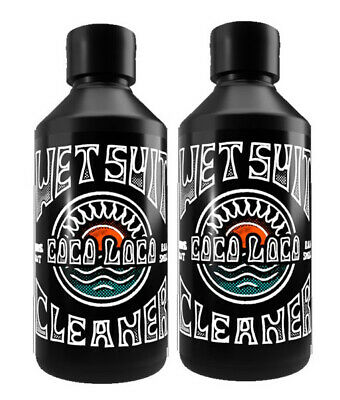 Coco Loco Eco Wetsuit Cleaner Shampoo With Eucalyptus Deodoriser 2 X 250ml