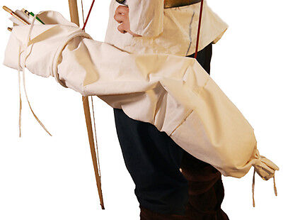 Medieval-SCA-Re enactment-LARP-Archers-Tudor-TRADITIONAL ARROW BAG with SPACER