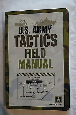 Current US Army Tactics Field Man Reference Book