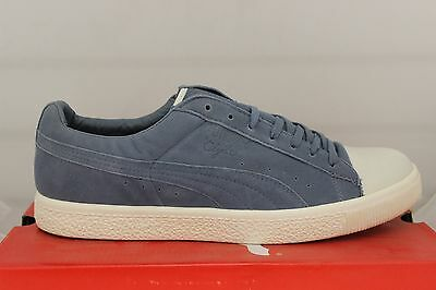 hot sale online 22d44 0655b MEN'S PUMA CLYDE X Undefeated Coverblock Flint Stone/Whisper White 352778  02 New