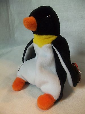 TY Beanie Babies Penguin ** WADDLE ** 4th Generation New w/ Tag