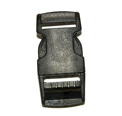 """25 2/"""" ACW Acculoc Acetal Side Release Buckle Black Made in USA Military Belt"""