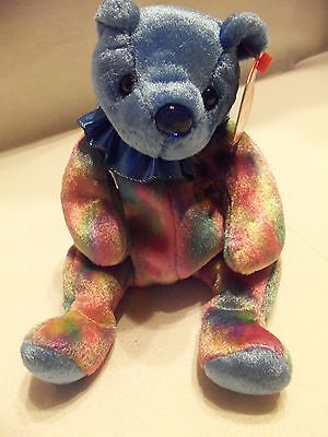 TY Beanie Babies Rainbow Birthday Bear ** SEPTEMBER **  New w/ Tag