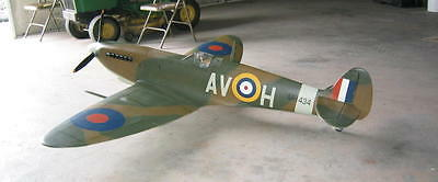 Scale Spitfire 64 inch  Giant Scale RC AIrplane Printed Plans