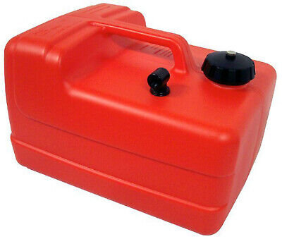 11.3 LT ✱ OUTBOARD FUEL TANK ✱ Boat Marine Petrol Portable Compact 12 Litre NEW