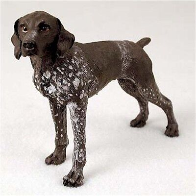 Realistic Elegant Hand Painted German Shorthaired Pointer Figurine