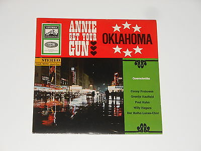 "Conny Froboess - 7"" EP - Annie Get Your Gun - Oklahoma - Greetje Kauffeld"