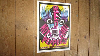 The Red Hot Chili Peppers MTV Repro Concert POSTER