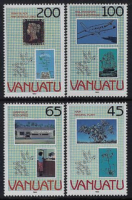 1990 Vanuatu Stamp World London '90 Set Of 4 Fine Mint Mnh/muh