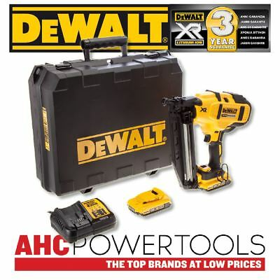 Dewalt DCN660D2 18V XR Cordless li-ion 2nd Fix Nailer 16Ga (2 x 2Ah Batteries)