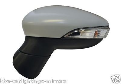Ford Fiesta Mk7 2008-2012 Primed Electric Door Wing Mirror Driver Side Right O/s