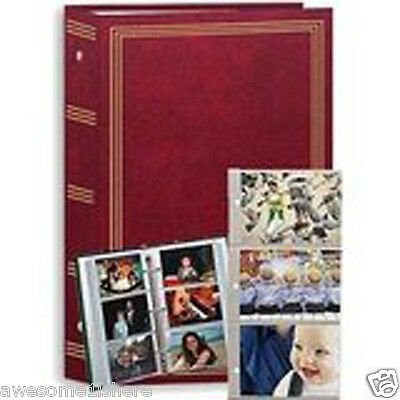 Photo Album Book Photography 3-ring Pocket - 504 Prints - 4X6 Pictures Memories