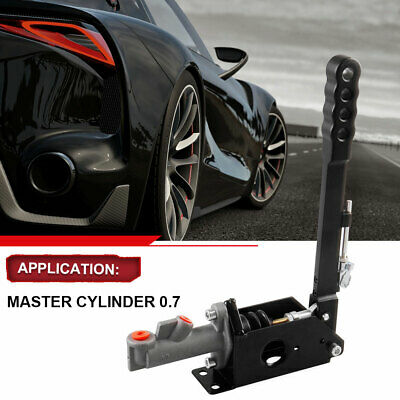 Kylin Hydraulic Vertical Handbrake With Locking Device 0.7 MASTER CYLINDER Black