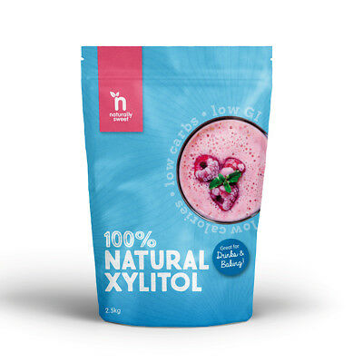 Naturally Sweet Xylitol 2.5kg - 100% Natural Sweetener