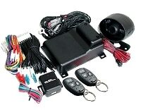 Mongoose M80S Car Alarm & 3 Point Immobiliser +Turbo Timer +stage impact sensor