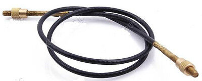 Double Bass Tail Gut/ Wire Cord, 4/4 Or 3/4, Quality Item, Brass Ends, Uk Seller