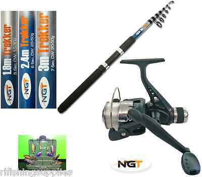 Telescopic Fishing Rod 6Ft, 8Ft, 10Ft + Rs20 Fishing Reel + 6 Spinners In Box