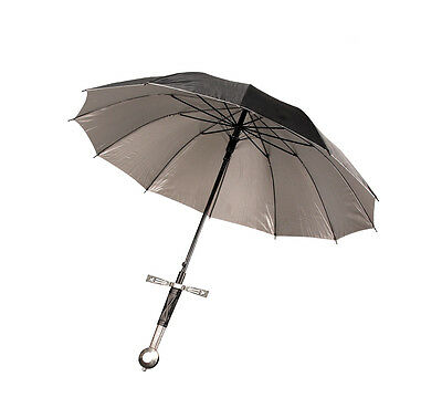 Knightly Sword Hilted Umbrella Full Size