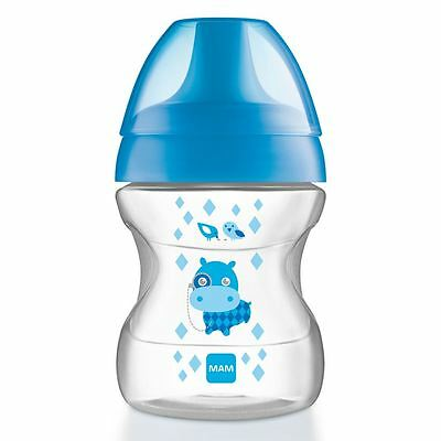 MAM Learn To Drink Cup 190ml 6+ Months Blue