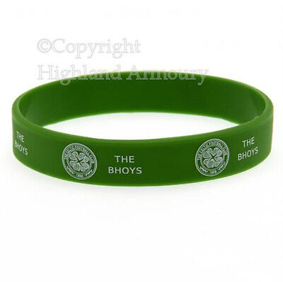 Celtic Football Club Silicone Wristband Official Wrist Band FC