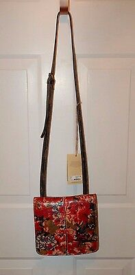 Patricia Nash Heritage Crossbody Collection Italian Leather Veg Tanned NWT