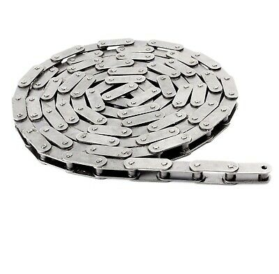 #C2080HSS Stainless Steel Heavy Conveyor Chain 10 Feet with 1 Connecting Link
