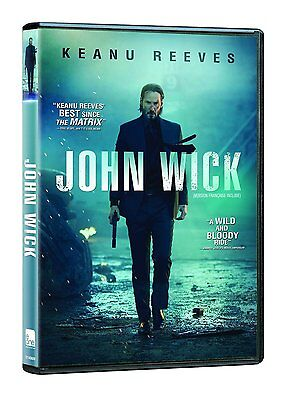 John Wick  (DVD, 2015, Canadian, FRENCH INCLUDED)