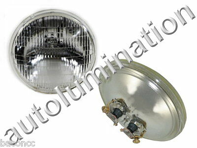 New 4415 Clear 12 Volt Par36 Sealed Beam Bulb Headlight Tractor 4-1/2 12.8v 35w