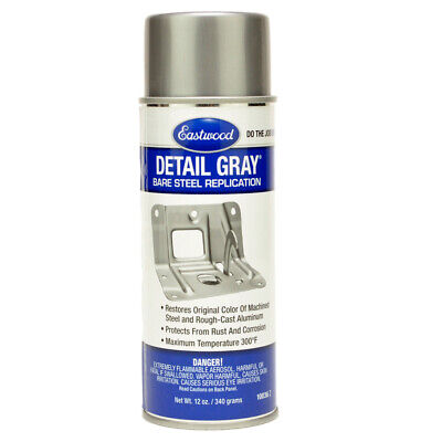 Eastwood Aerosol Detail Gray spray can paint cast iron rust protection