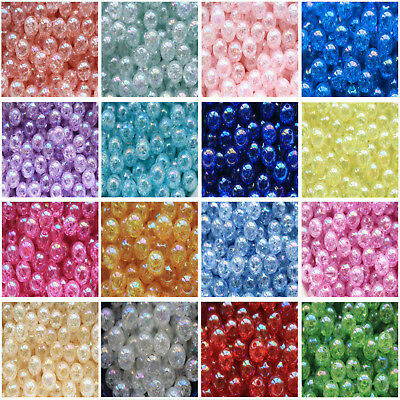 Wholesale 10-200pcs beautiful 12mm Acrylic Pearl Round Spacer Loose Beads new