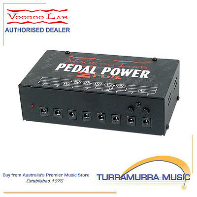 Voodoo Lab Pedal Power 2 Plus PP2+ Effect FX Pedal Power Supply PSU 2+
