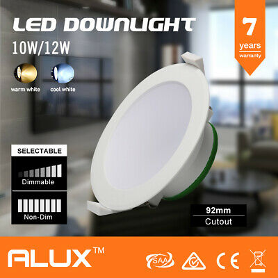 10/12/16W IP44 DIM/Non-Dim DOWNLIGHT KIT WARM/DAYLIGHT WHITE 70-120MM CUTOUT