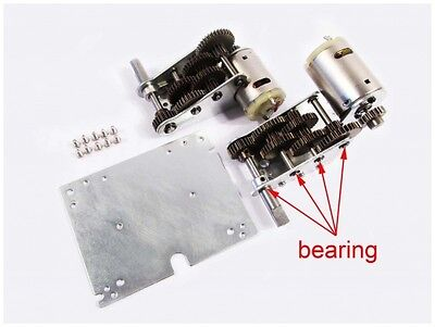 MATO 4.0 Version 3:1 Steel Gearbox with Bearings for Mato Complete Tiger I tank