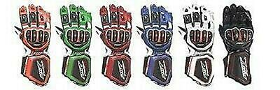 RST TRACTECH EVO Gloves New Model Ce Approved Leather Motorcycle Gloves 2579