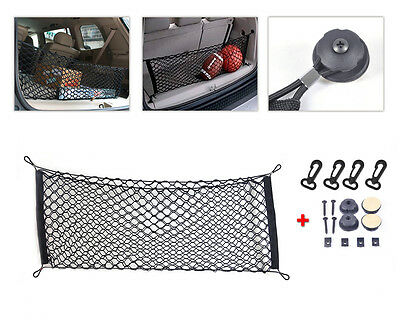 Nylon Car hatchback Rear Luggage Cargo Trunk Storage Organizer Net plus mounting