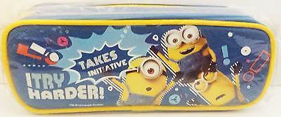 Despicable Me Minions School Pencil Case - Blue