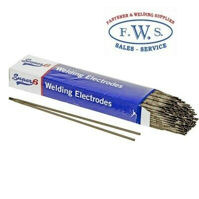 2 X Super 6, 5Kg Pkt Mild Steel Welding Arc Electrodes 6013 3.2Mm Stick Rods