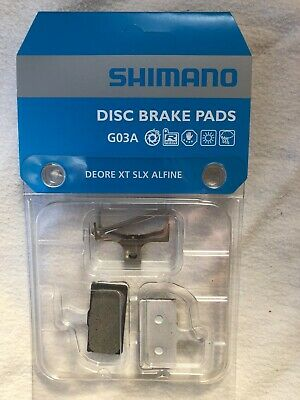 Shimano Disc Brake Pads Resin G02A XTR XT SLX Alfine **New**