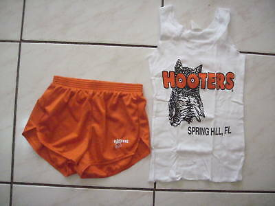 NEW HOOTERS RARE BLACK HALLOWEEN COSTUME SMALL FLORIDA WITH EXTRAS /& A BONUS