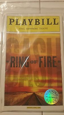 OPENING NIGHT Playbill ~ Ring of Fire 2006